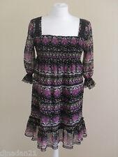 Womens dress by E-vie, size 10, short, 3/4 sleeve
