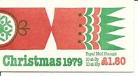 Great Britain, SC # BK709 Christmas 1979. Complete Booklet