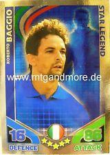 Match Attax World Stars Legends - Roberto Baggio