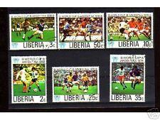 1217+ LIBERIA SERIE TIMBRES COUPE DU MONDE FOOT- BALL78