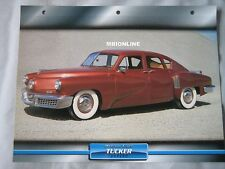Tucker Torpedo Dream Cars Card
