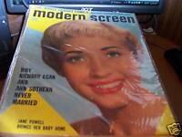 Modern Screen Magazine June 1956 Jane Powell