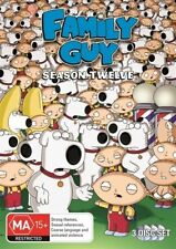 Family Guy : Season 12 (DVD, 2013, 3-Disc Set)