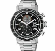 Citizen Eco-Drive Brycen Men's Chronograph Multi Dial 44mm Watch CA0641-59E