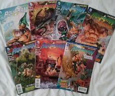 DC new 52 Aquaman comic book.  set of 7 issues 26, 27, 28, 29, 30, 31,& annual 2