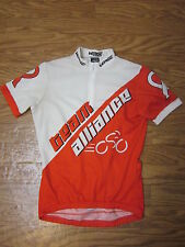 "Verge Team Alliance Nc Red&White Cycling Jersey Shirt ""Women S(2)"""