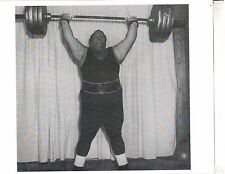 Weightlifting Photo Strongman Paul Anderson Bodybuilding Muscle B&W #10