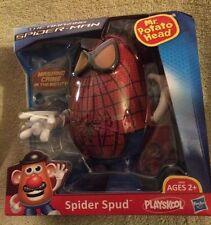 "HASBRO PLAYSKOOL~ MR POTATO HEAD  ""THEAMAZING SPIDER-MAN"" SPIDER SPUD"