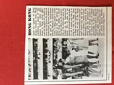 m2r ephemera  1965 article british army hong kong louise sparrow peggy bruce