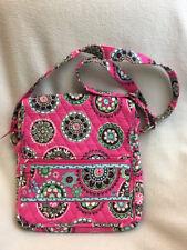 Vera Bradley Cupcake Pink Mailbag Crossbody Messenger Purse Flap Front
