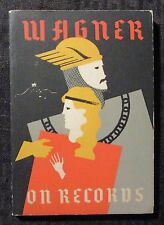 1942 WAGNER ON RECORDS by Robert Bagar VG/FN 5.0 1st Four Corners Paperback