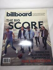 Billboard Magazine - One Direction - 11/30/2013