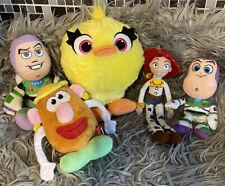 Toy Story Soft Toy Bundle Ducky Mr Potato Jessie Buzz Bundle Disney Pixar VGC