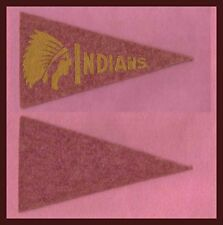 OLD 1936 Cleveland Indians Baseball Pennant! BF3 !