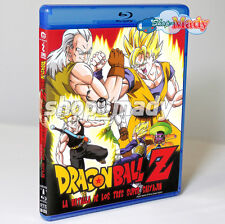 Dragon Ball Z Super Battle of Theree Super Saiyas Bluray ESPAÑOL LAT. Reg. Free
