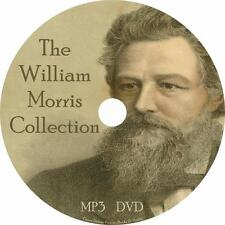 William Morris Audiobook Collection in English on 1 MP3 DVD Free Shipping