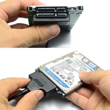 Hard Disk Drive SATA 7+15 Pin 22 to USB 2.0 Adapter Cable For 2.5 HDD Laptop ON