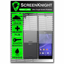 ScreenKnight Sony Xperia T3 FULL BODY SCREEN PROTECTOR invisible military shield