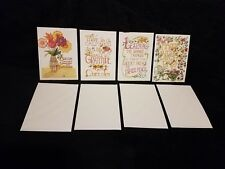 Set of 4 Mary Engelbreit Greeting Cards w/Envelopes Unused all different