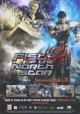 Fist Of The North Star Kens Rage 2010  Magazine Advert #4572