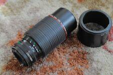 Canon FD 80-200mm F4 L series Lens manual focus