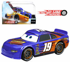 NIB Bobby Swift Octane Gain #19 PULL N RACE Disney Pixar Cars 3 Diecast 1:43