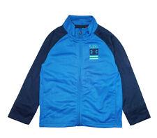 Under Armour Boys Blue & Navy Track Jacket Size 4