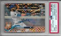 2018 Topps Chrome Update Amed Rosario Rookie X-Fractor Auto #HMT29 PSA 9 Mint RC