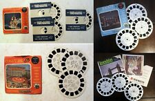ViewMaster Coney Island/Cypress Gardens Florida/Reno/London: VacationLand Cities