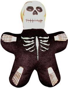 HALLOWEEN PLUSH Skeleton with Vinyl Head - FREE SHIPPING!