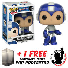 FUNKO POP MEGA MAN ICE SLASHER EXCLUSIVE VINYL FIGURE + FREE POP PROTECTOR