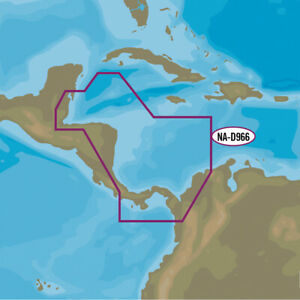 C-MAP NA-D966 4D - Belize to Panama Local