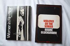 British Film Institute CINEMA Study Text Books WOMEN FILM NOIR, VIOLENCE, Gender