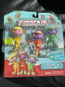 Floogals Just Play 3 Poseable Figures with Tools Set NEW Free Shipping