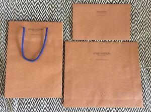 100% Authentic Original Vintage Louis Vuitton LV Shopping Bag & Envelopes