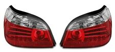 2 FEUX ARRIERE A LED ROUGE BLANC V1 BMW SERIE 5 E60 BERLINE 07/2003-02/2007 NEUF
