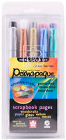 Sakura Permapaque Metallic Plus Paint Marker Set 1.0 mm Fine Line Opaque Pigment