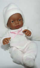 "New Berenguer 9-1/2"" Mini LaNewborn Doll-Sexed Girl-African American"