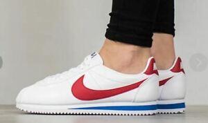 Nike Women's Classic Cortez Leather Shoe Sneakers 807471 103 UK 5.5 / UK 6