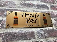 Aluminium Sign Personalised Bar Shed Large Wall Plaque Pub Signs UK