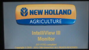 New Holland Intelliview 3 display