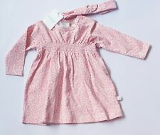 Marquise Baby Girl Dress NEW Size 00 3-6 month NEW Pink Dress RR$39.95 GIFT SET