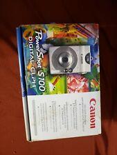 Canon PowerShot Digital ELPH S100 / Digital IXUS 2.0MP Digital Camera - Silver