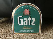 Gatz Altbier, Emailschild, Emaile, TOP Zustand