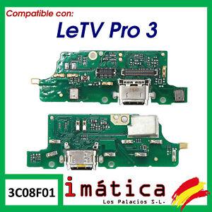 PLACA DE CARGA PARA LETV PRO 3 X720 USB TIPO C MICROFONO CONECTOR REPUESTO X721