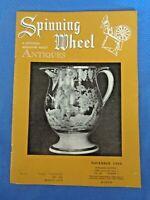 Spinning Wheel 1953 Antiques Magazine Mettlach Villeroy & Boch Nicholas Lutz Art