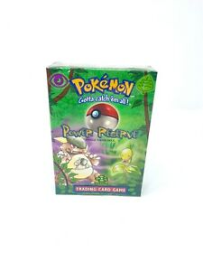 Pokemon FACTORY SEALED Power Reserve Jungle Theme Deck!! WOTC 1999 🔥🔥