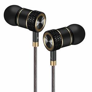 Auricolari,Cuffie ad alta Definizione, isolamento acustico, ottimi Nero e oro