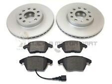 AUDI A6 2.0 TDi S LINE 2.0 TFSI 2005-2011 FRONT BRAKE DISCS AND PADS SET (314MM)