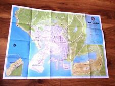 GTA Grand Theft Auto Five V 5 Los Santos Map original UK english genuine